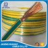 Alta calidad toma de tierra verde/del amarillo con el conductor de cobre