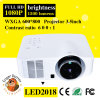 1500lumen Mini СИД 1080P 100inch Picture Zoom Wireless Projector