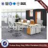 4개의 사람 금속 다리 멜라민 워크 스테이션 사무실 칸막이실 (HX-PT5073)