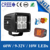 4X4 3X3 12W 12V LED Motorcycle Work Light