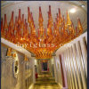 Brown Blown Glass Pendant Lighting pour KTV Decoration