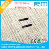 Etiqueta disponible del microchip de RFID para los animales con las virutas de NFC