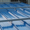 Système métallique ondulé de toit, système de support de toit