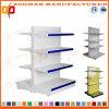 Le niveau 4 a personnalisé le stand de présentoir de côté de double en métal de supermarché (Zhs517)