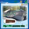 Tuile de toiture enduite en métal de zinc en aluminium