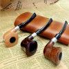 Pipe de fumage en bois de modèle de Coût-Effectivenew de pipe de tabac de 3 couleurs