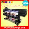 Funsunjet Fs-1802h 1.8m Fast Printer com 2dx5 Head 1440dpi para Stickers (1.7m, 3.2m para bandeiras)