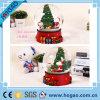 Детали о персонализированном стеклянном подарке дня рождения Санта рождества глобуса снежка