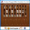 Cabinete de archivo de gran tamaño de cristal 2015 del panel antiguo de Alibaba con la puerta