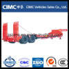 Cimc de Lage Semi Aanhangwagen van het Bed
