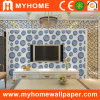Sala de estar 3D Wall Paper de la TV Background con Waterproof