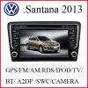 GPS van de auto voor VW Nieuwe Santana 2013