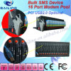 Modem der UnterstützungsSMS/MMS/Voice/Fax 16 Kanal-GPRS (Leitung-Band)