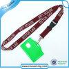 Custom bon marché Woven Lanyard avec l'identification Card