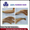 Cabelo humano da ponta Nano da extensão do cabelo humano