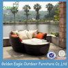 Svago esterno Sunbed della mobilia di alluminio del rattan del PE