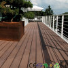 Decking barato do assoalho do PVC da madeira de madeira de borracha