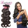 Волосы естественной Unprocessed дешевой девственницы людские волнистые (LQW-0001)