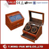 Drawer Watch Ww-8067b를 가진 Quality 높은 Elegant 얼룩말 Stripe Watch Winder