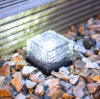 SolarBrick Ice Cube Path Light Crystal Garten Lamp (weiße LED)