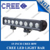 15  80W Single Row van Road LED Light Bar, 4WD Fog LED Driving Lights, Roof Light Bar LED Lighting (5JG-ULG-T680)