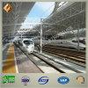 Vorfabrizierter Rohr-Binder-Stahlkonstruktion verschüttet für Bahnhof