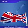 天候の抵抗力がある100%年ポリエステルカスタム国旗、英国国旗のフラグ、イギリスのフラグの