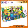 Зона игры цветастых игр детей привлекательных крытая мягкая