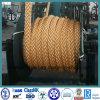 Double- umsponnenes Nylon/PE/PP/UHMWPE sich hin- und herbewegendes Liegeplatz-Seil