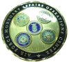 Bespoke 3D Challence Coin, 3D Army Coin