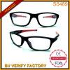 A injeção S5439 dobro ostenta óculos de sol com lente desobstruída