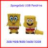 Mecanismo impulsor del flash del USB de Spongebob de la historieta del USB Pendrive