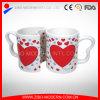 Tazza di caffè di ceramica di disegno del biglietto di S. Valentino delle coppie con la stampa