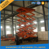 Plataforma de trabajo Elevated de la plataforma de trabajo aéreo con los 8m
