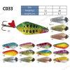 Cuiller colorée Shinning de pêche
