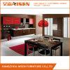 Armadio da cucina bianco del PVC di disegno moderno