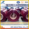Dx51d SGCC prepintó la bobina de acero galvanizada del material de construcción utilizada a la hoja del material para techos