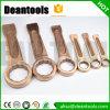 Non étincellement de la clé à douille saisissante non magnétique de bronze de béryllium de clé