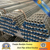 BS1387 Hot DIP Galvanized Steel Pipe met Prime Quality