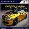 De gouden Glanzende VinylFilm van het Chroom voor Vinyl van de Omslag van de Auto van de Auto het Verpakkende