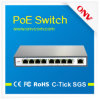 9-Port Poe Switch с IEEE802.3at