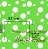 Lycra de nylon impreso puntos encantadores para el traje de baño de los niños