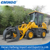 0.8t Mini Loader com Snow Shovel Price, Construction Equipment, Wheel Loader para Sale