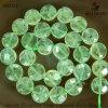 Branelli verdi della moneta sfaccettati 12mm della fluorite/branelli naturali della pietra preziosa