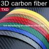 PVC Sheets Black Carbon Sticker Auto Car Wrap Film 3D Carbon Fiber Vinyl