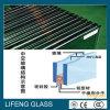 Baixo-e vidro isolado energy-saving revestido para a parede de cortina do edifício