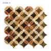 Bladen van het Mozaïek van de Tegel van het Gebrandschilderd glas van de Patronen van de Stijl van Los Angeles de Decoratieve