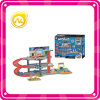 Brinquedo Railway da garagem de estacionamento do carro do lote de estacionamento