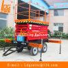 9m das Towable manuelle Mobile Scissor Arbeitsbühne (SJY0.5-9)