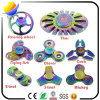 2017 heißer Verkauf und kreatives Metall und ABS Plastik-LED Dekompression-Gyroskop des Fingerspitze-Kreiselkompass-und Handspinners und des Unruhe-Spinners für fördernde Spielwaren